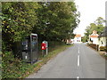 TM1361 : Mickfield Road & Upper Town Postbox by Adrian Cable