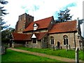 TL9933 : St Peter's church, Boxted by Bikeboy