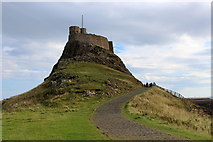 NU1341 : Lindisfarne Castle by Chris Heaton