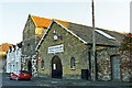TR3358 : Drill Hall, The Quay, Sandwich by Rose and Trev Clough