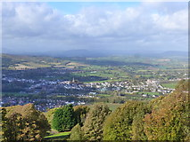SO5212 : View from The Kymin viewpoint by Ruth Sharville