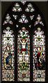 TQ9240 : East Window, St Margaret's church, Bethersden by Julian P Guffogg