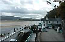SH5837 : Hotel and bay at Portmeirion by Clint Mann