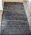 TL4268 : All Saints, Rampton - Ledger slab by John Salmon