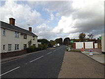 TM0562 : B1113 Finningham Road, Old Newton by Geographer