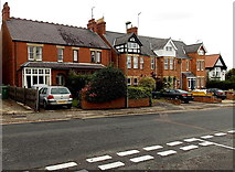SP4539 : Hightown Road houses in Banbury by Jaggery