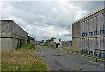 SU8651 : Derelict army buildings, Queen's Avenue, Aldershot by Stephen Richards