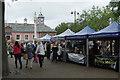 NY4055 : Farmers' Market, Carlisle by Stephen McKay