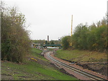 NT3364 : Looking south along the Borders Railway by M J Richardson