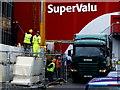 H4572 : Workmen, Supervalu site, Omagh by Kenneth  Allen