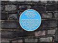 ST5777 : Blue Plaque,Henleaze Road by Eirian Evans