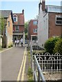 SU0931 : Castle Lane, Wilton by Derek Harper