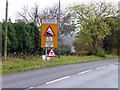 SK3061 : Road signs at the top of Lime Tree Hill by Graham Hogg