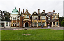 SP8633 : The Mansion at Bletchley Park by David P Howard