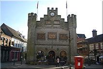TQ1730 : Horsham Town Hall by N Chadwick
