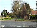 SP0875 : Gorsey Lane continues as a footpath beyond Station Road, Wythall by Robin Stott