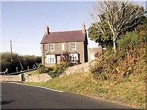 SH2332 : House on bend west of Sarn Meyllteyrn by John Firth