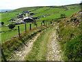 SE0127 : Quarry track, Foster Clough Delf by Humphrey Bolton