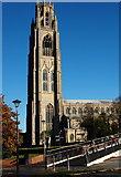 TF3244 : St Botolph's Church Vicinity, Boston, Lincs by David Hallam-Jones