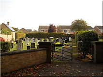 TF1505 : The Lawn Cemetery, Glinton by Paul Bryan