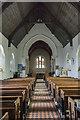 TQ8713 : Interior, Ss Mary & Peter church, Pett by Julian P Guffogg