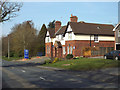 SP0775 : Part-time police station, Alcester Road, Wythall by Robin Stott