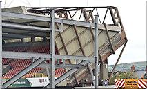 J3272 : The new Railway Stand, Windsor Park, Belfast - October 2014(2) by Albert Bridge
