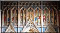 TQ3087 : St Saviour, Tollington - Reredos detail by John Salmon