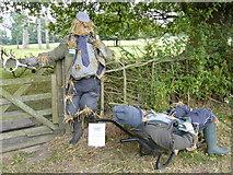 SP1971 : Baddesley Clinton - scarecrows by Chris Allen