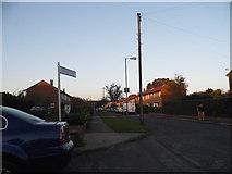 TQ1372 : Glebe Way, Hanworth by David Howard