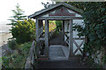 NY2262 : Hadrian's Wall Pavilion, Bowness on Solway by Stephen McKay