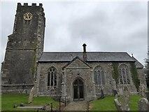 SS6907 : Coldridge church by David Smith