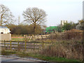 SP0873 : Land severed by the M42, seen from the diverted Forshaw Heath Lane by Robin Stott