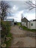 SS6908 : Tarka Trail running through Hawkridge Farm by David Smith