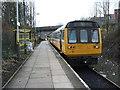 SJ4099 : Kirkby railway station, Merseyside by Nigel Thompson
