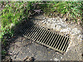 TF8023 : Drain grate beside the SW/NE runway by Evelyn Simak