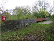 SS7208 : Railway bridge at Lapford by David Smith