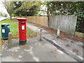 TG2107 : Newmarket Road/Eaton Road Edward VII Postbox by Adrian Cable