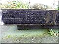 H4891 : Ogham alphabet, Plumbridge by Kenneth  Allen