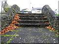 H4891 : Fallen leaves, Plumbridge by Kenneth  Allen