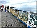 SH7882 : Rusty railings by Richard Hoare
