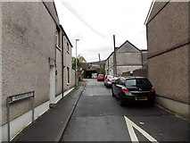 SS8591 : Ferriers Row, Maesteg by Jaggery
