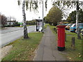 TG2206 : Hall Road & Hall Road Postbox by Adrian Cable