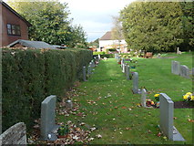 SU0460 : St Andrew, Etchilhampton: churchyard (2) by Basher Eyre