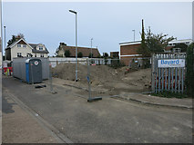 TL4658 : Cleared area by Newmarket Road by Hugh Venables