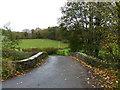 SO3122 : Bridge over the Afon Honddu, near Stanton by Ruth Sharville