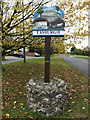 TM2095 : Tasburgh Village sign by Adrian Cable
