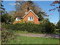 TQ0651 : Gate lodge, Hatchlands Park by Alan Hunt