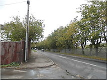 SU9976 : Horton Road at the junction of Mill Place, Datchet by David Howard