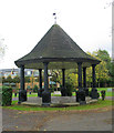 TL1829 : Bandstand, Bancroft Gardens, Hitchin by Julian Osley